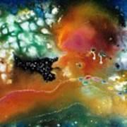 Silver Dreams Of The Desert Art Print