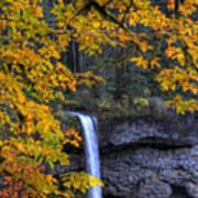 Silver Falls State Park Oregon Art Print