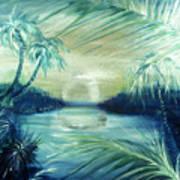 Silver Pond  Art Print