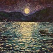 Silver Sea Art Print