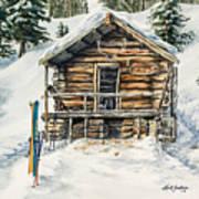 Silvertip Lodge Art Print