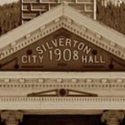 Silverton City Hall 1908 Art Print
