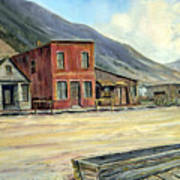 Silverton Colorado Art Print by Evelyne Boynton Grierson