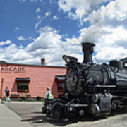 Silverton Durango Steam Train - Silverton Colorado Art Print