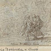 Silvio, Dorinda And Linco Art Print