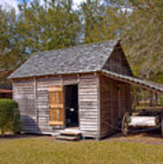 Simmons Cabin Built In 1873 In Orange County Florida Art Print