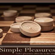 Simple Pleasures Poster Art Print