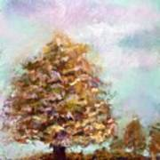 Simple Tree Art Print by Peter R Davidson
