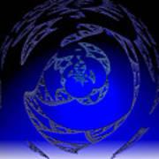 Simply Blue Art Print