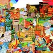 Simultaneous Dimensions #1 Art Print