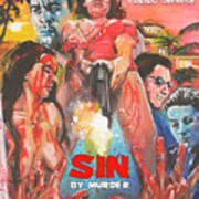 Sin By Murder Poster B Art Print
