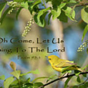 Sing To The Lord Art Print