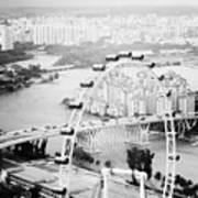Singapore Flyer Print by Nina Papiorek