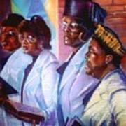 Singin His Praises Art Print