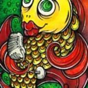 Singing Fish Art Print