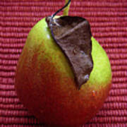Single Pear Too Art Print