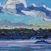 Singleton Solstice Stratocumulus Art Print