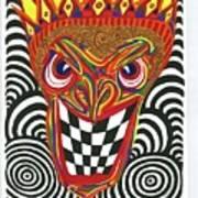 Sinister King Art Print