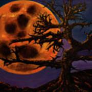Sinister Moon Art Print