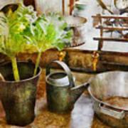 Sink - Eat Your Greens Art Print