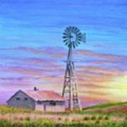 Sioux County Sunrise Art Print