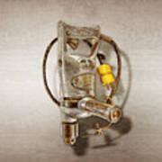 Sioux Drill Motor 1/2 Inch Art Print