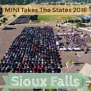 Sioux Falls Rise/shine 2 W/text Art Print