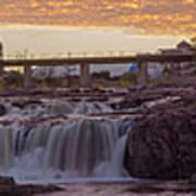 Sioux Falls Sunset Art Print