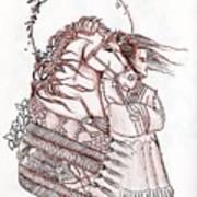 Sioux Wind Art Print