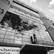 sir alex ferguson stand Manchester united old trafford stadium uk Art Print