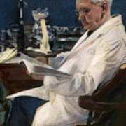 Sir Alexander Fleming Art Print
