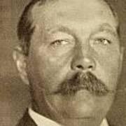 Sir Arthur Conan Doyle, 1859 -1930 Art Print