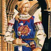 Sir Dinadan Art Print