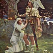 Sir Galahad  Art Print