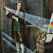 Sir Isaac Newton Art Print