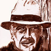 Sir Sean Connery Art Print