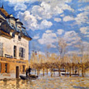 Sisley: Flood, 1876 Art Print