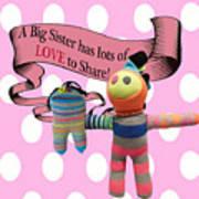 Sister Love Art Print