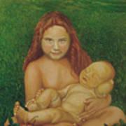 Sisters Of Mine Art Print
