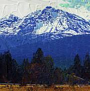 Sisters Oregon Ranch Art Print