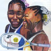 Sisters Williams Art Print