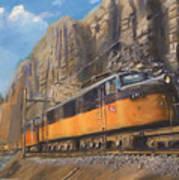 Sixteen Mile Canyon Art Print