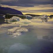 Skaftafellsjokull Lagoon Art Print