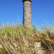 Skagen Denmark - Lighthouse Grey Tower Art Print