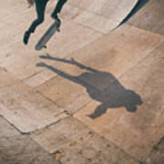 Skater Boy 001 Art Print