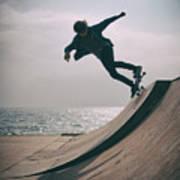 Skater Boy 007 Art Print
