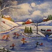 Winter Fun  Part 2  Art Print