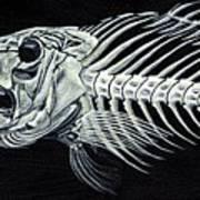 Skeletail Art Print