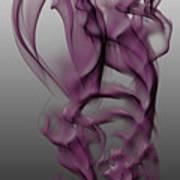 Skeletal Flow Art Print