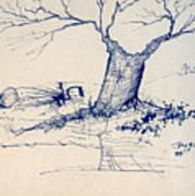 Sketch 6 Art Print